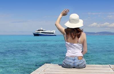 Favignana to Trapani Ferry