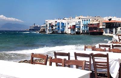 Santorini to Ios Ferry
