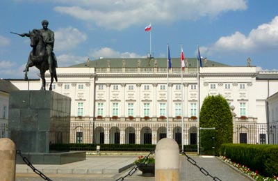 Presidential Palace in Poland
