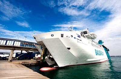 Book Baleària Freight Ferries online
