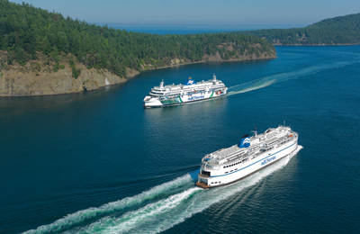 You'll love BC Ferries!
