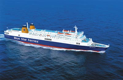 Book Freight Ferries to and from Greece online