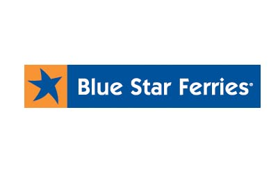 Book with Blue Star Ferries  simply and easily