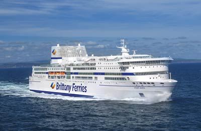 St Malo to Plymouth Ferry