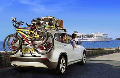 Portsmouth-Caen van £ 214 voor auto + 2 rendement