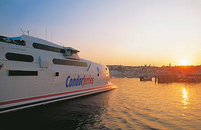 Book Condor Ferries Freight online