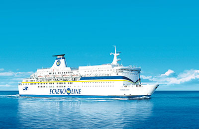 Book Eckerö Line Freight Ferries online