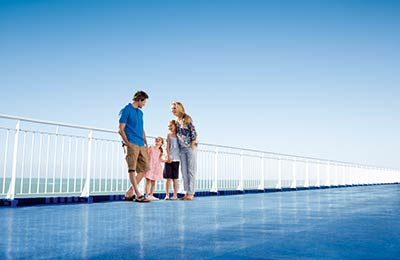 Kids Go Free on the Cairnryan & Larne route