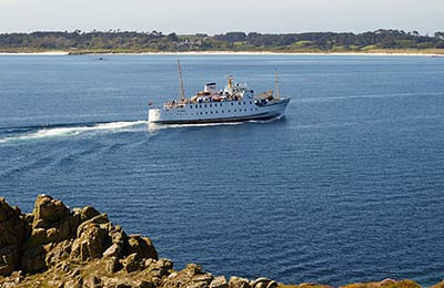 Penzance to St Mary's Ferry