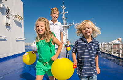 Kids go FREE on Cairnryan - Belfast, Fishguard - Rosslare, Holyhead - Dublin and Liverpool - Belfast routes with Stena Line!