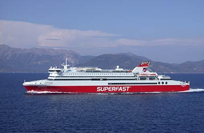 Book Superfast Ferries Freight online