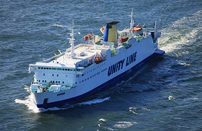 Book a Unity Line Freight Ferry